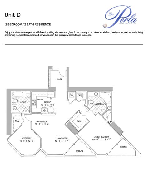 lax floor plan la perla luxury condo property for sale rent af realty