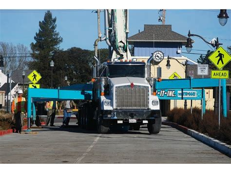 photos work continues on cotati smart rail depot