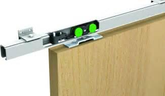 rail pour porte coulissante placard rail porte