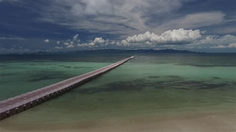 what is a pontoon bridge pontoon bridge stretching into the distance the clouds in