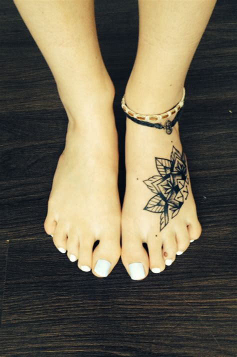 foot flower tattoo designs 90 awesome foot designs and the controversy them
