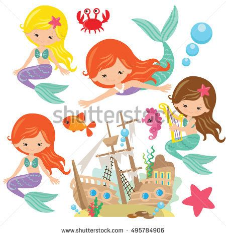 Pretty Mugs Mermaid Stock Images Royalty Free Images Amp Vectors