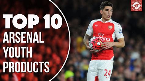 arsenal youth top 10 arsenal youth products youtube