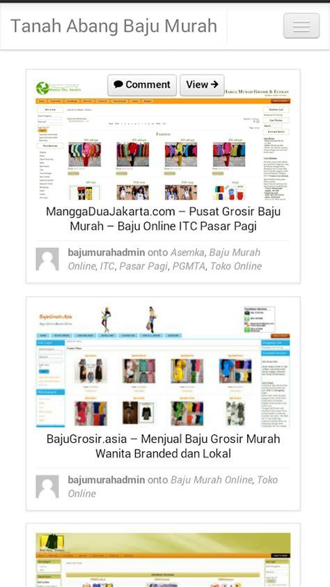 Karpet Murah Di Tanah Abang toko baju murah tanah abang android apps on play