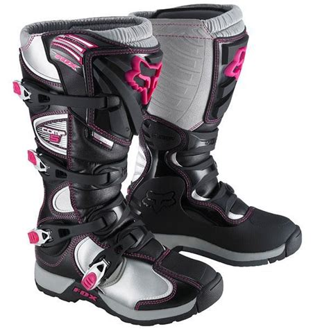 pink motocross boots dirt bike gear for kids dirt biking pinterest