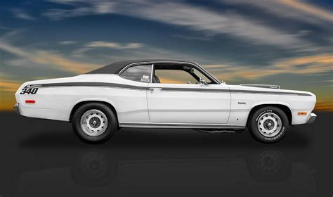 frank benz 1972 plymouth duster 340 photograph by frank j benz