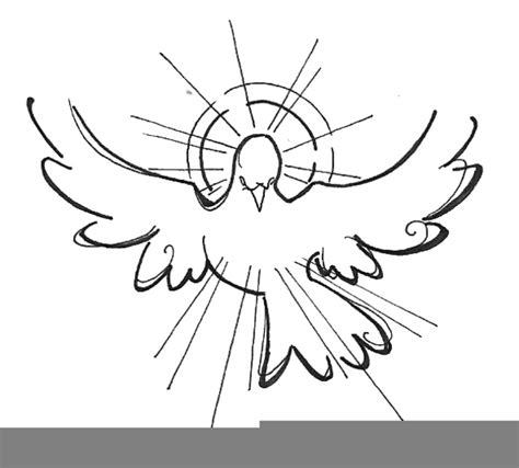 holy spirit clip holy ghost clipart free images at clker vector