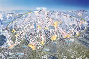 mammoth mountain ski area trail map