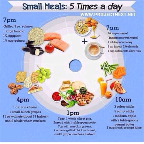 5times everyday small meals 5 times a day trusper