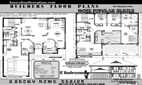 5 bedroom floor plans 1 house floor plans with 6 bedrooms home design and style