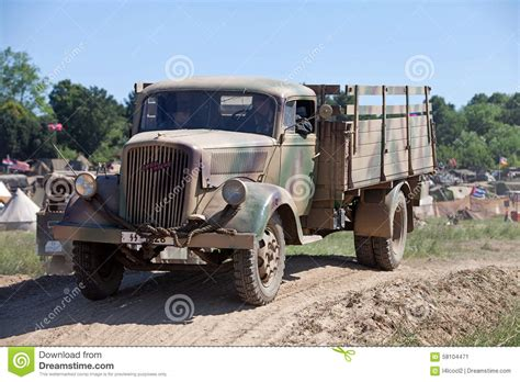 german opel blitz truck opel blitz supply truck editorial photo image 58104471