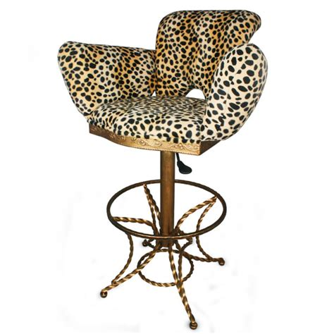 Leopard Print Stool by Leopard Print Bar Stool Barmans Co Uk