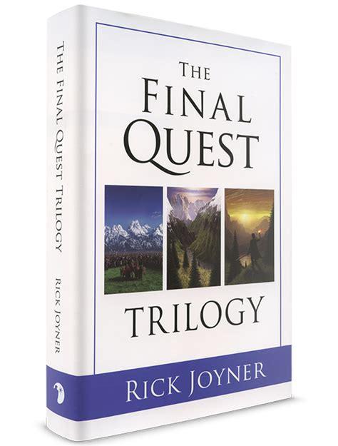 quest journey trilogy 2 rick joyner the final quest trilogy the jim bakker show store