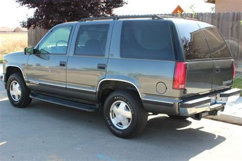 auto air conditioning service 1999 chevrolet tahoe transmission control sell used 1999 chevy tahoe lt only 62k original miles 4x4 4 door leather like new in