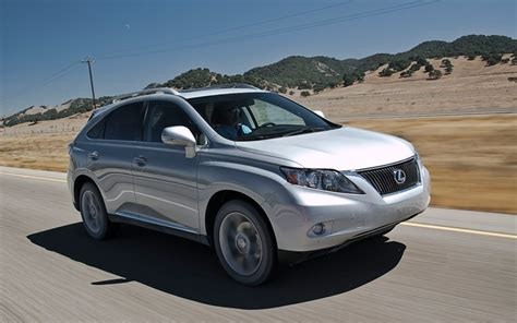 2010 lexus rx350 review 2010 lexus rx350 review and rating motor trend