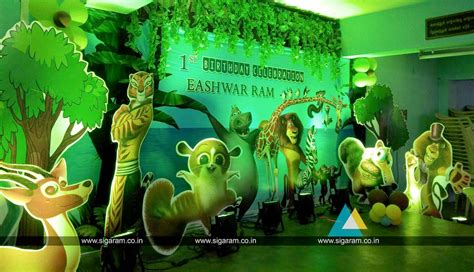 Decoration Theme Jungle by Decoration Jungle Theme