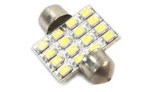 Led Car Bulbs Leeds 31mm 16 Led Car Ceiling Dome Door Light Bulb Tmart
