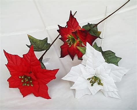 artificial flower poinsettia magnolia ring artificial