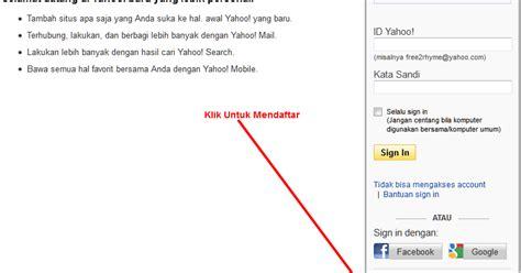 step membuat email yahoo cara membuat email dengan mudah