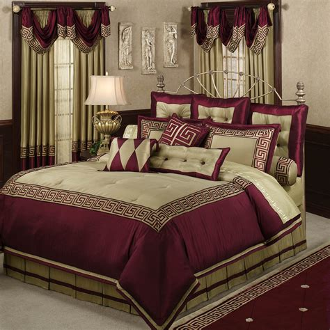 wine comforter home apollo comforter set wine almond bedroom decor