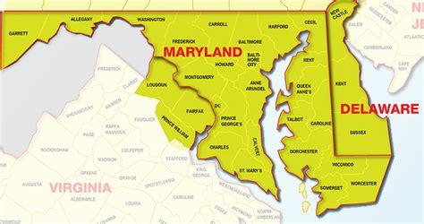 maryland map dc easily contact express countertops md va dc express