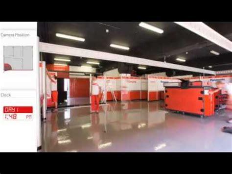 Garages Designs toyota f1 pit garage assembling youtube