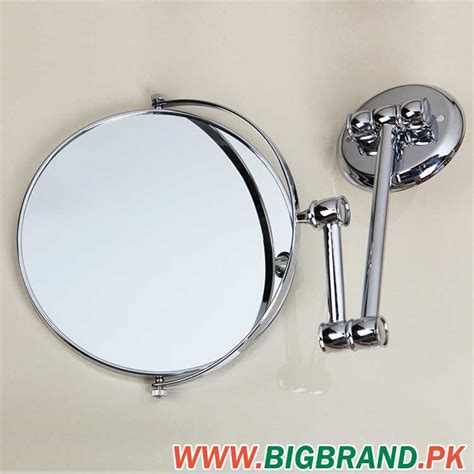 Magnifying Mirror For Bathroom Wall by Bathroom Wall Mounted Extendable Chrome Magnifying Mirror