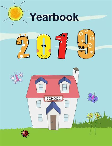 Yearbook Templates 8 5x11 Kindergarten Book 569145 Bookemon Preschool Yearbook Templates