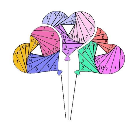 Iris Paper Folding Patterns For Free - 17 best images about iris folding on iris