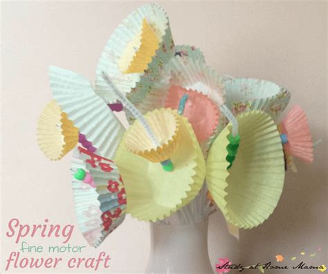 Easy Flower Craft For Study At Home