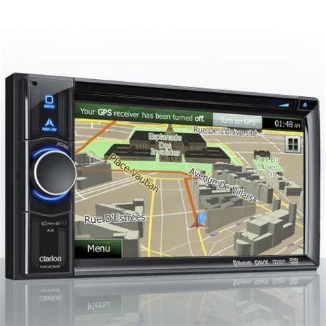 Unit Doble Din Avi clarion nx404e 6 2 quot dvd multimedia unit with built in navigation din unit