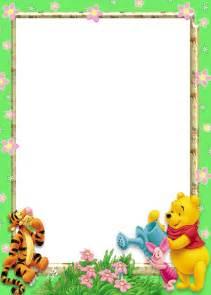 winnie the pooh writing paper marcos de winnie pooh beb 233 para fotos imagui b f