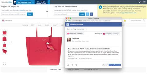 Affiliate Links On Facebook Your Questions Answered Affiliate Link Disclosure Template
