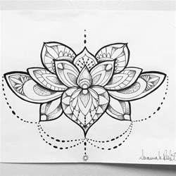 fantastic mandala lotus flower tattoo tattoobite com