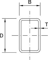 rectangular hollow section table australian rectangular hollow sections free cad blocks