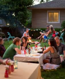 Backyard Party A Backyard S Mores Party Gatherings From The Kitchn