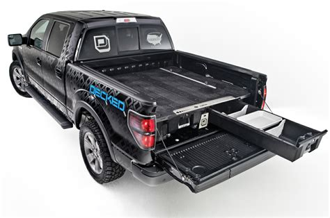 decked truck bed decked bed storage system tools of the trade