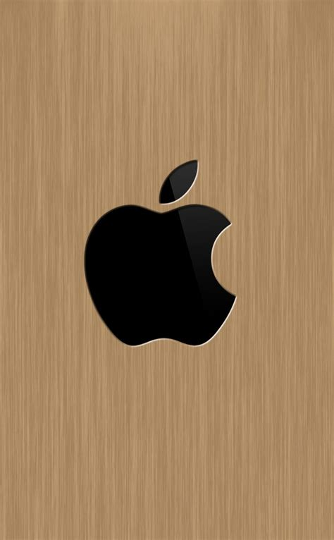 Creative Wood Apple Logo Android Iphone 4 4s 5 5s 5c 6 6s 7 Plus apple wood wallpaper sc iphone4s