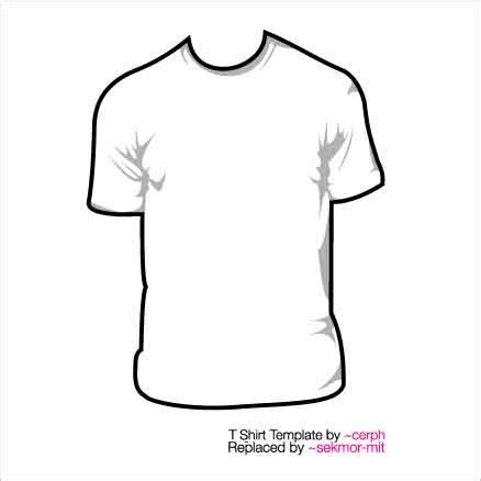 50 Free Awesome T Shirt Templates T Shirt Template