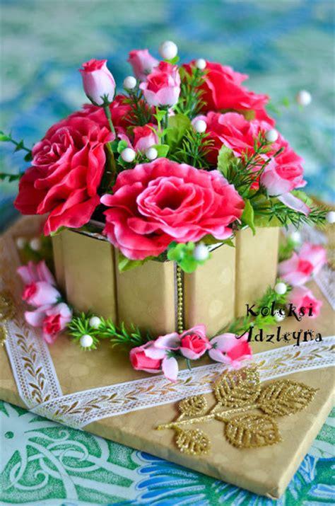 Coklat Bentuk Bunga Kecil adzleyna bakery and craft abc hantaran majlis pertunangan pasu bunga coklat bar