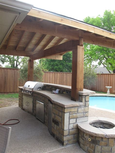Backyard Designs With Pool And Outdoor Kitchen Best 25 Simple Outdoor Kitchen Ideas On