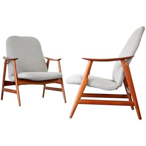 mid century modern furniture for sale two mid century modern teak easy chairs for sale at 1stdibs
