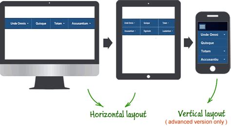 responsive design menu mobile how to create mobile friendly responsive menu