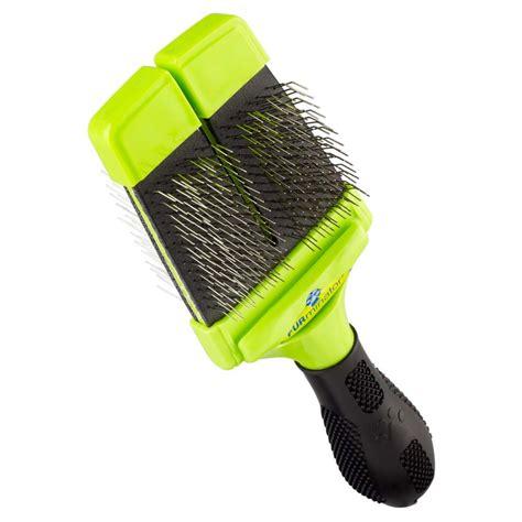 puppy brush buy furminator small firm slicker brush for dogs