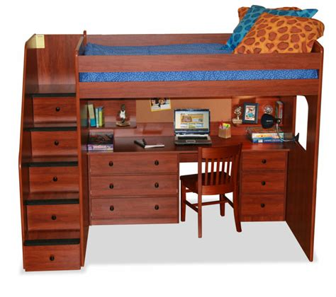 Bunk Bed With Desk And Dresser by 25 Bunk Beds With Desks Made Me Rethink Bunk Bed Design