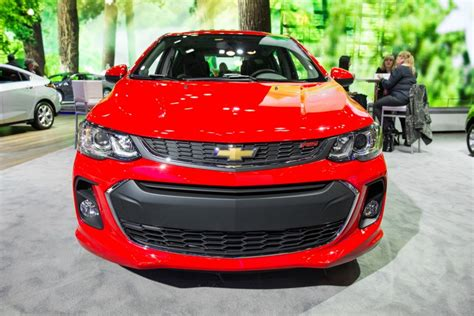 2018 chevy sonic rs 2017 chevy sonic rs package features revealed gm authority
