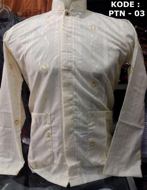 Baju Koko Motif Baru Lengan Panjang baju koko lengan panjang model baru busanamuslimpria