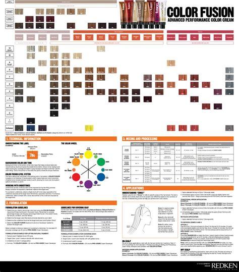 redken toner color chart redken color fusion chart search hair color