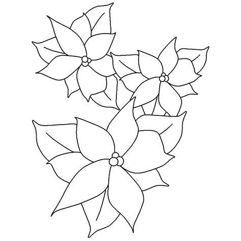 imagenes de nochebuenas navideñas para colorear flor de noche buena coloring pages