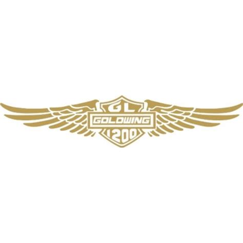 Goldwing Aufkleber by Honda Goldwing 1200 Motorcycle Decal Sticker 12 Quot Wide
